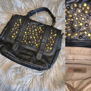 """MATT & NAT """"BNWOT"""" Studded handbag"""